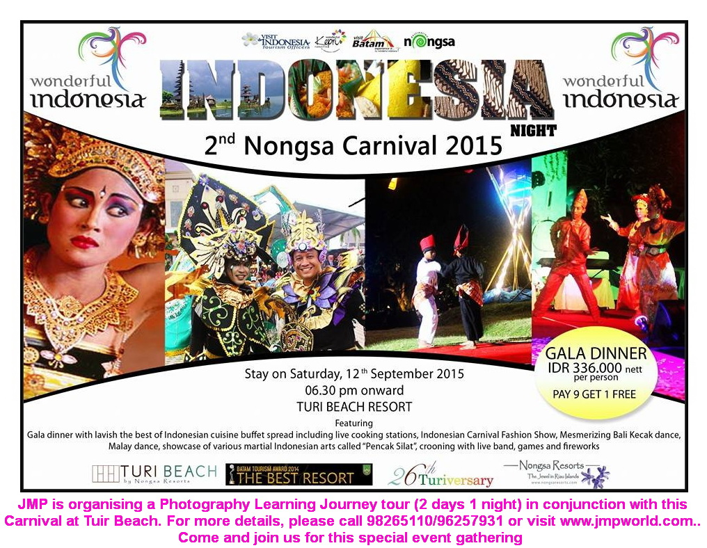 2-Day Learning Journey to Good Photography in Conjunction with 2nd Nongsa Carnival Night Celebration.