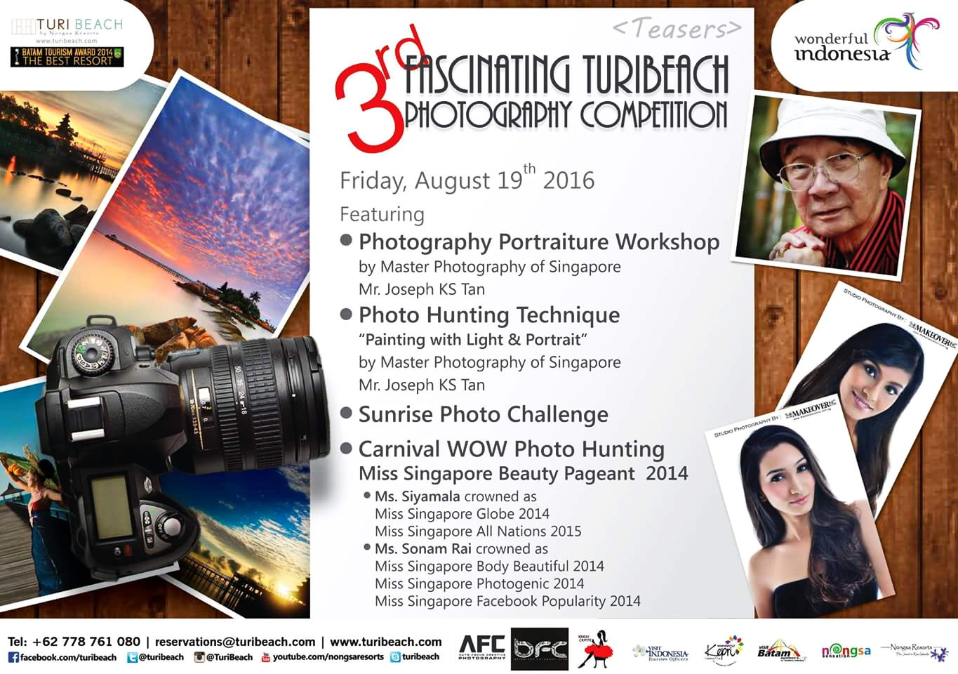 3rd Turi Beach Photography Competition.