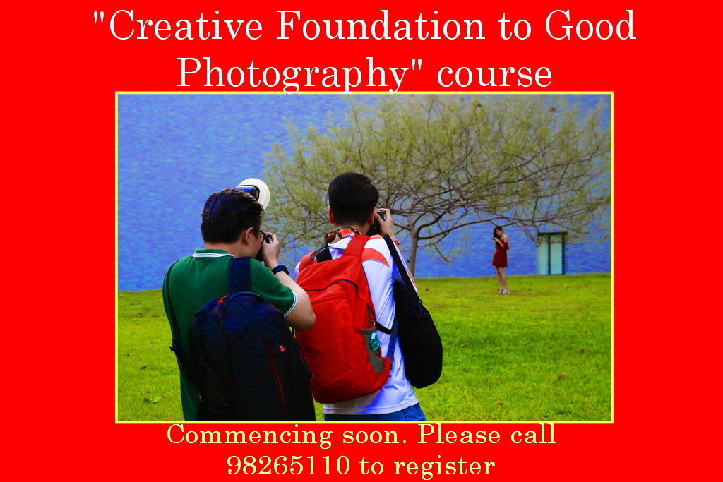 """Creative Foundation To Good Photography"" Course."